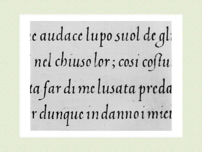 «Sonetos de Pietro Bembo», escritos en Italia cerca de 1543 por Lisabetta Quirini a pedido del autor cardenal Bembo.