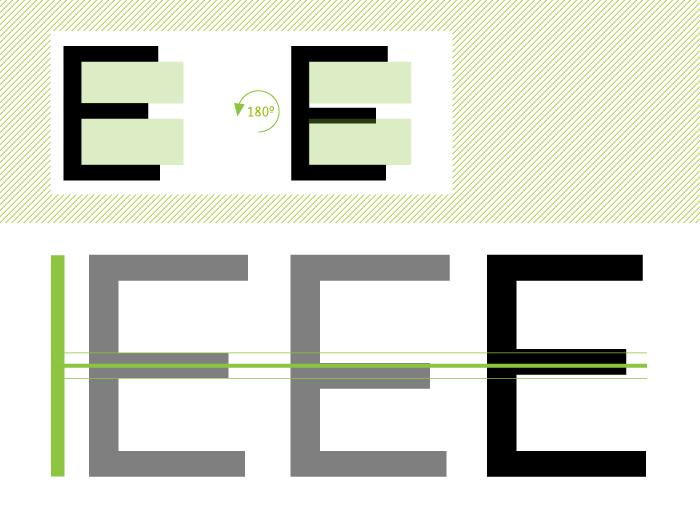 """Compensaciones en la letra """"E"""""""