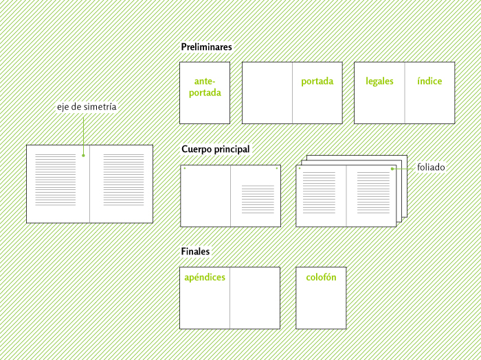 estructura externa revista: