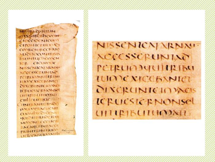 Los evangelios (siglo V).