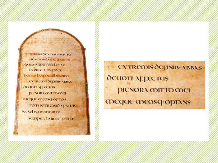 Codex Amiatinus (siglo VIII).